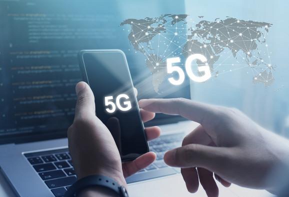 5G, pet ge mreže, telekomunikacija