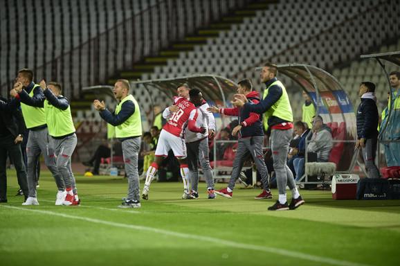 Ričmond Boaći proslavlja gol