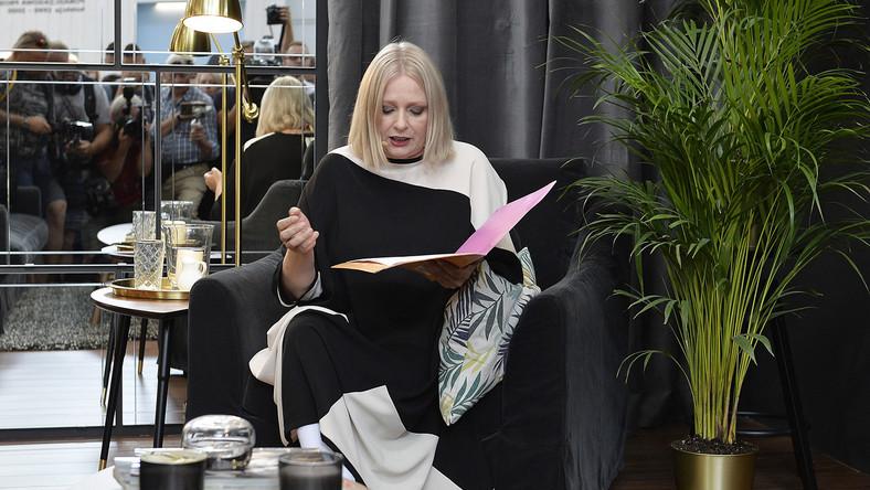 Gwiazda wystąpiła na premierze nowego katalogu Ikea.