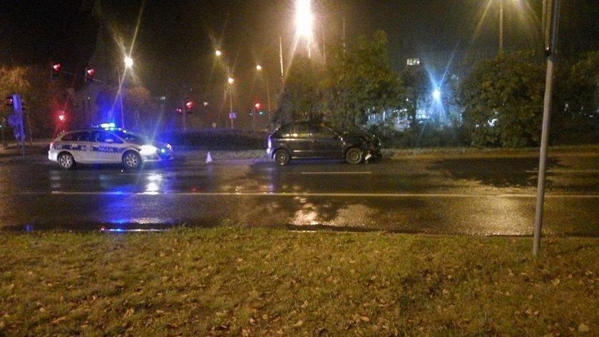 Policjanci nie odnieśli w wypadkach większych obrażeń