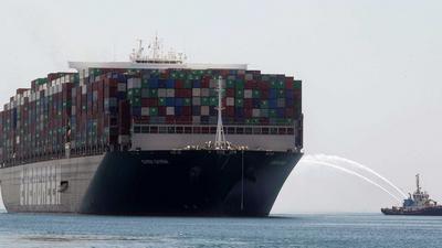 Egypt's Suez Canal records higher revenue despite Ever Given blockage