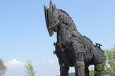 Replika Trojanskog konja nalazi se u gradu Čanakale