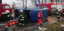 Tragedia na drodze. 7 osób w szpitalu