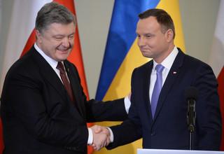 Duda na spotkaniu z Poroszenko: Cały czas stoimy przy Ukrainie
