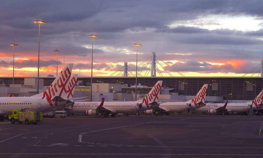 Paraliż na lotnisku w Sydney