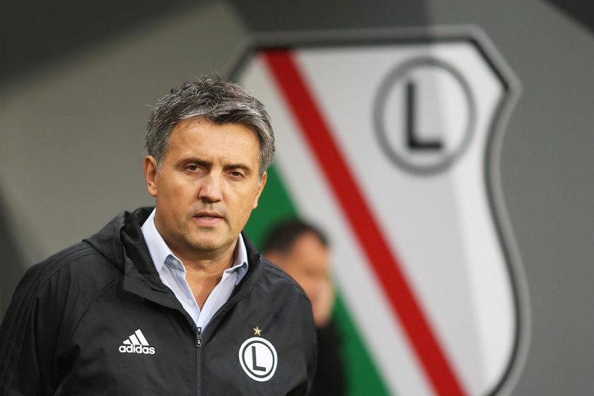 Pilka nozna. Ekstraklasa. Legia Warszawa - Cracovia Krakow. 17.09.2017