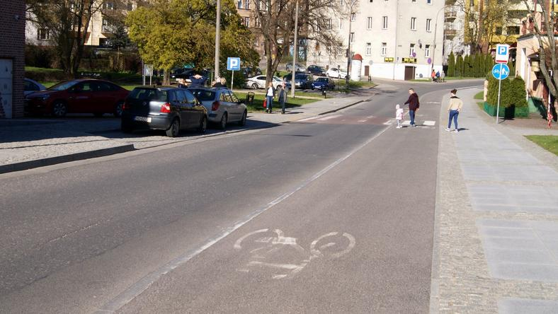Ścieżka rowerowa w Olsztynie