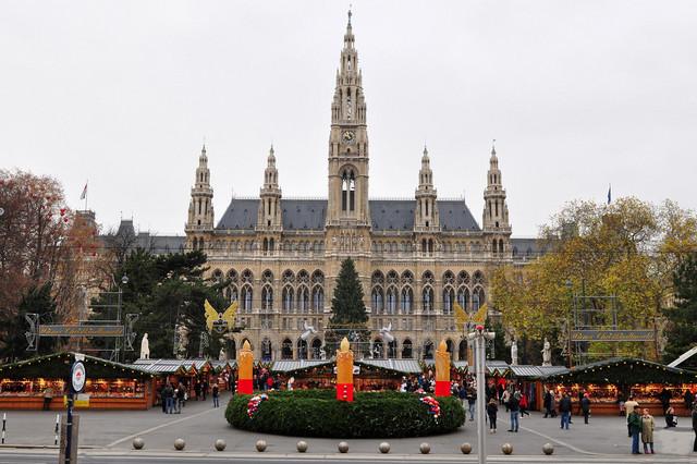 Beč, prestonica Austrije