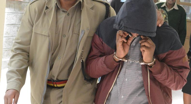Eric Musila, man accused for killing his ex-wife and musician Diana Chelele