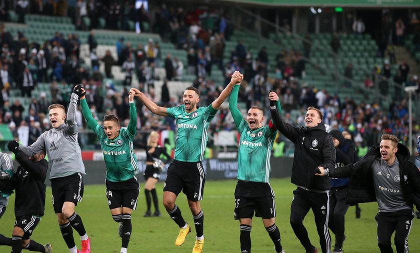 Legia pokonała Cracovię.