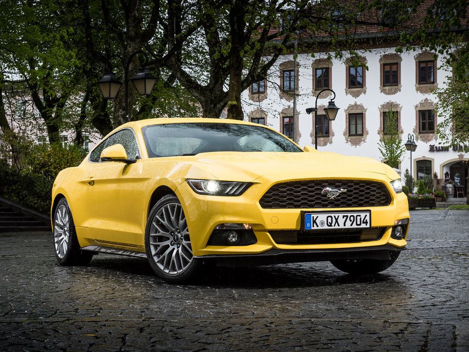 3. Ford Mustang