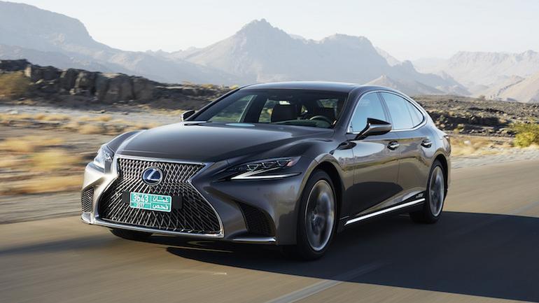 Lexus 500h – pierwsze jazdy