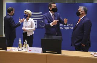 Krajowy Plan Odbudowy. Morawiecki na spotkaniu w Brukseli o miliardach