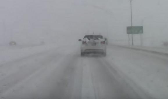 SAD, snežna oluja