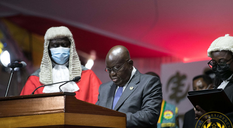Here are the promises Nana Addo gave to Ghanaians in his inaugural speech