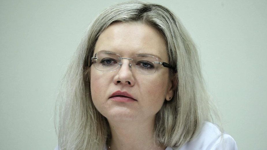 Małgorzata Wassermann - przewodnicząca sejmowej komisji śledczej ds. Amber Gold