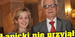 Łapicki nie przyjął żony na studia
