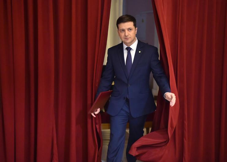 Volodimir Zelenski, Ukrajina