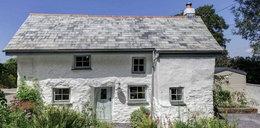 Wykończyli domek sprzed 350 lat. Wnętrza oczarowują