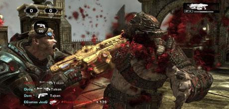 "Screen z gry ""Gears of War 2"""
