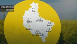 Prognoza pogody dla woj. wielkopolskiego – 23.09