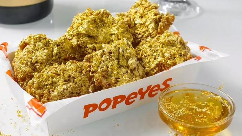 Diese Fast Food Kette Verkauft Vergoldete Chicken Wings
