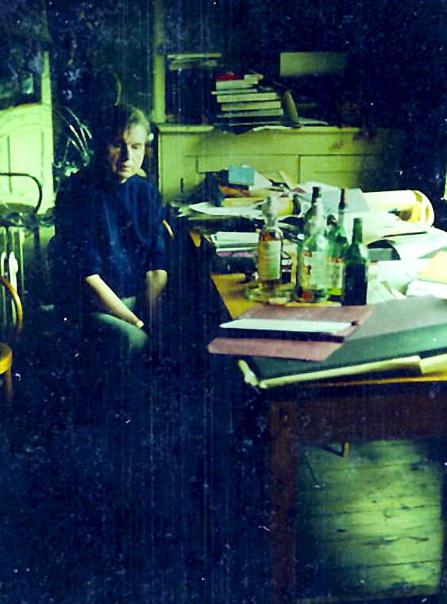 Fransis Bejkon u svom studiju