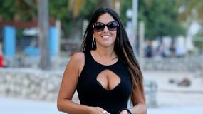 Claudia Romani w seksownej kreacji