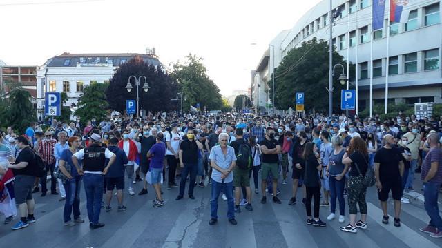 Niš, protest
