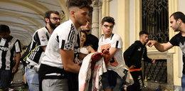 Ponad tysiąc rannych w Turynie. Wybuchła panika