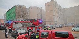 Pożar kamienicy przy Wólczańskiej w Łodzi. To podpalenie?