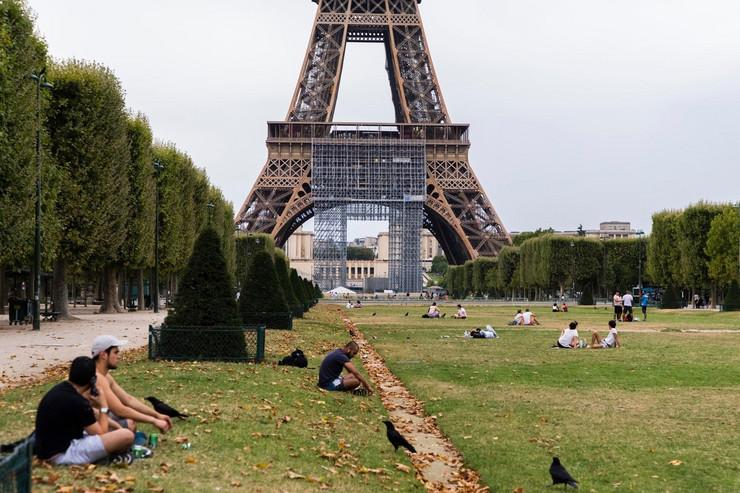 Pariz talas vrućine