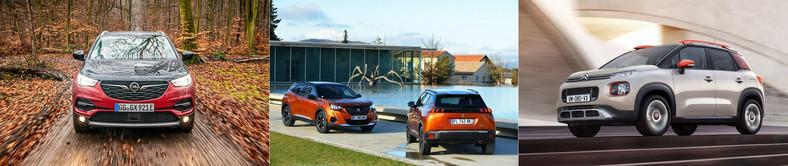 Opel, Peugeot i Citroen