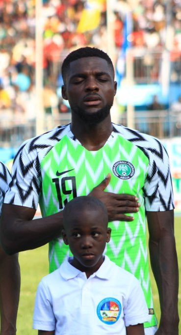 John Ogu has 22 appearances for the Super Eagles of Nigeria (Twitter/John Ogu)