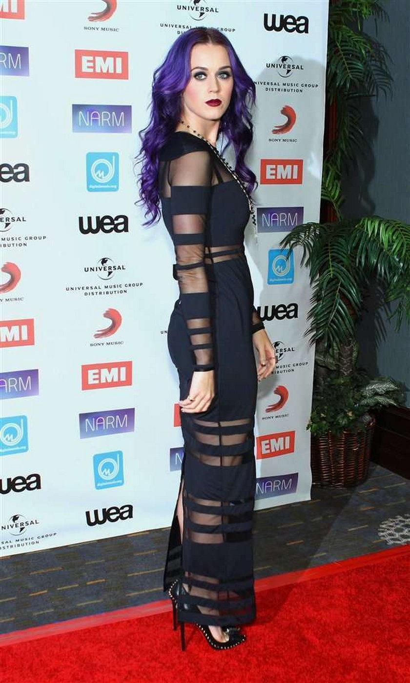 Katy Perry jako gotka