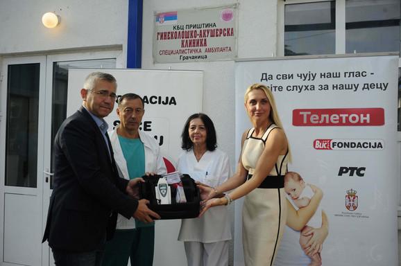 Zoran Stanojević, dr Bogoljub Veljković, dr Gordana Pavlović i Jelena Drakulić Petrović