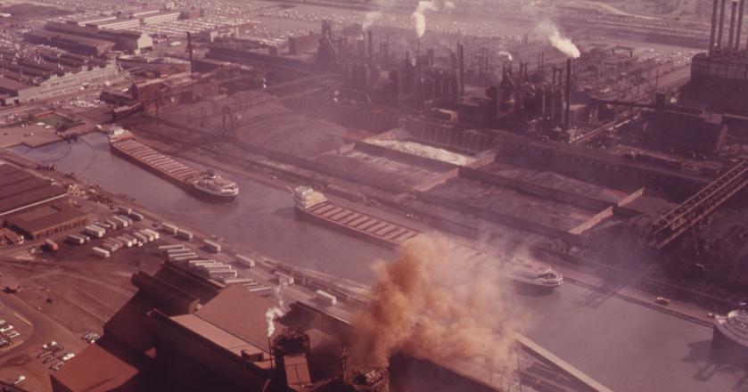W fabryce River Rouge znajdowało się prawie 100 budynków
