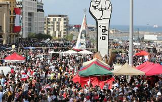 Protest w stolicy Libanu. Policja użyła gazu łzawiącego wobec demonstrantów