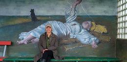 Niesamowite malowidła na wiejskich przystankach. To ona za tym stoi