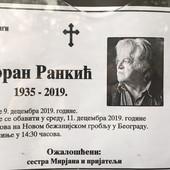 SAHRANA ČUVENOG POPARE Glumci i prijatelji odaju počast preminulom kolegi