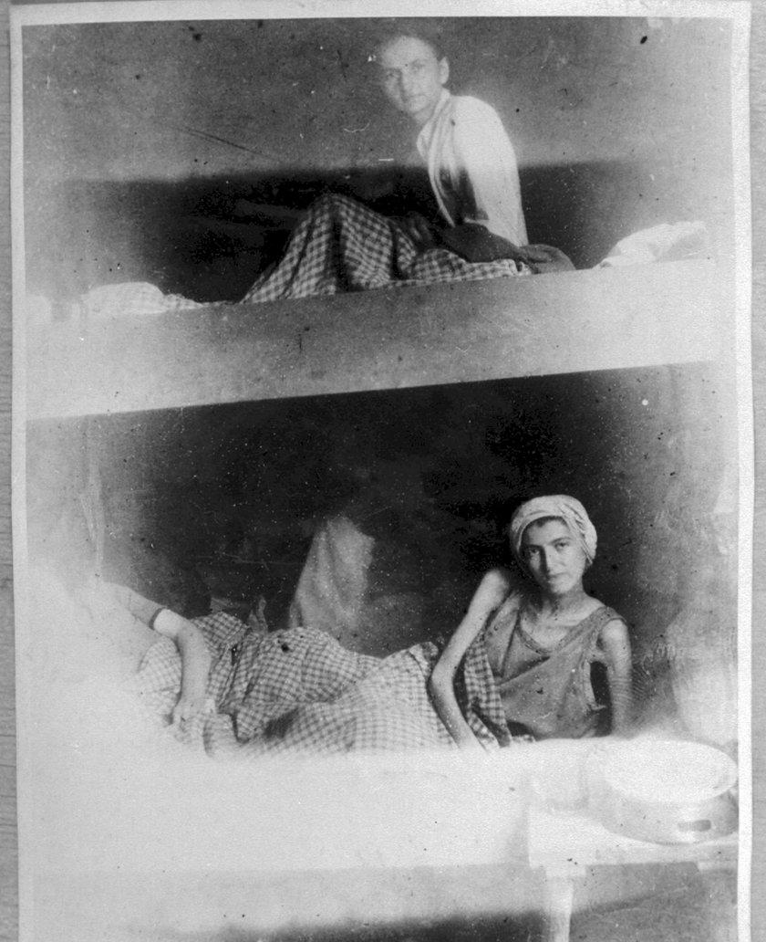 Kobiety mieszkające w obozie Stutthof