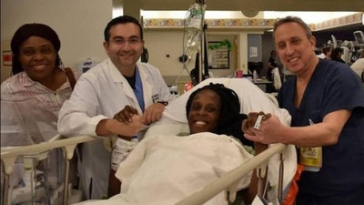 25-year-old woman gives birth to 9 babies (video)
