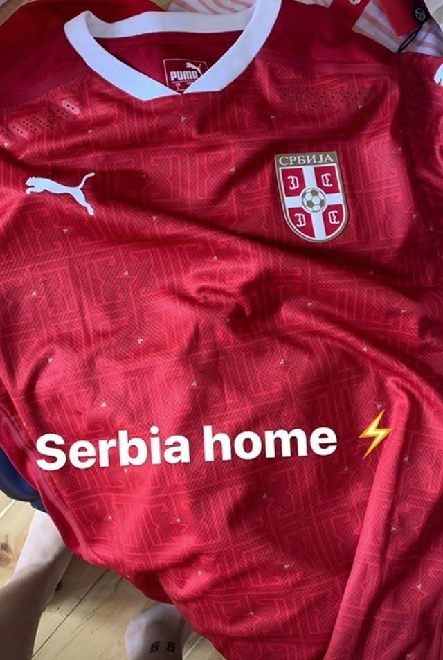 Novi dres Srbije