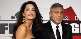 Clooney z narzeczoną we Florencji