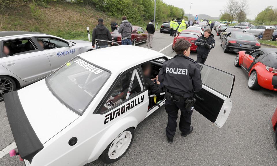 Niemcy: policja zatrzymała ponad 120 uczestników Eurorally
