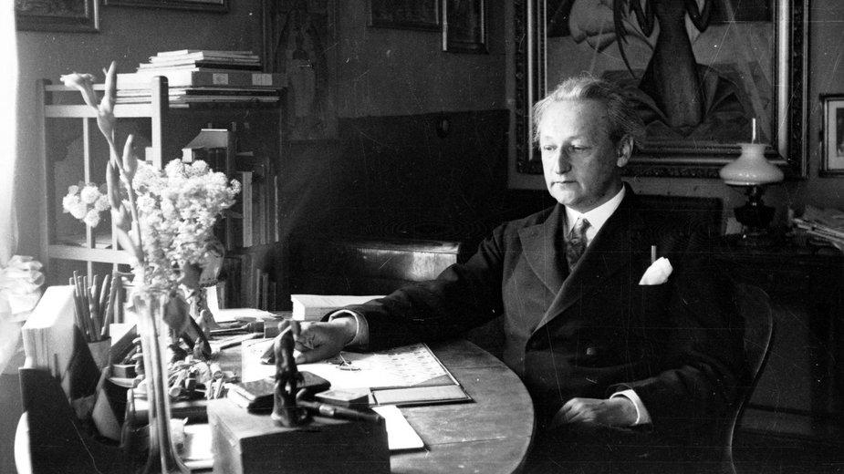 Emil Zegadłowicz w 1933 r.