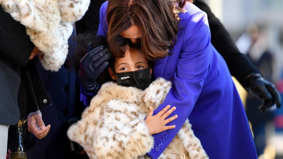 Kamala Harris i jej cioteczna wnuczka Amara