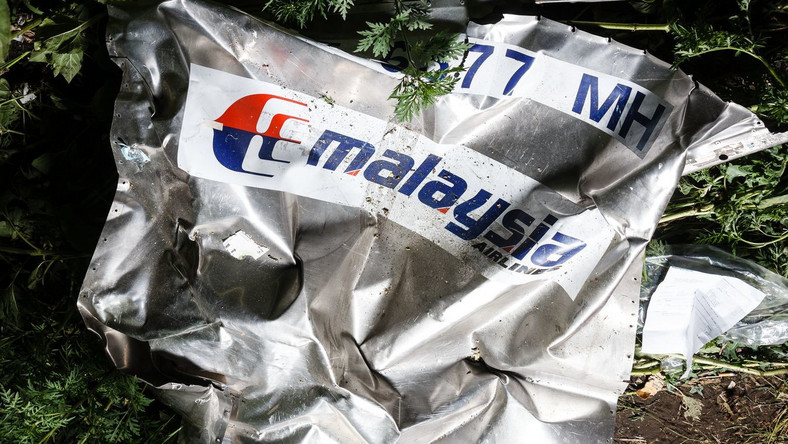Szczątki malezyjskiego samolotu