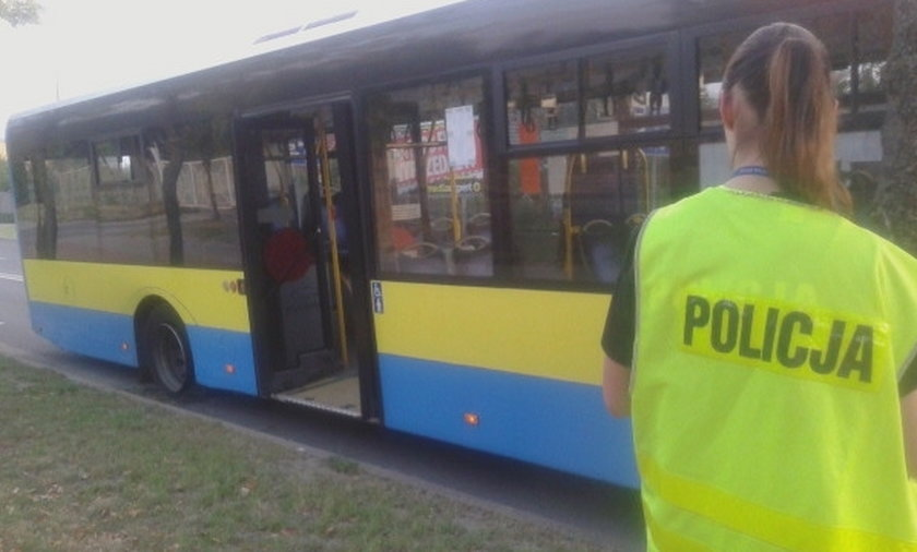 pijany kierowca autobusu zatrzymany w Nowej Soli