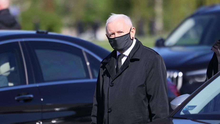 Wicepremier, prezes PiS Jarosław Kaczyński